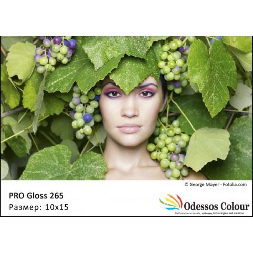 Фотохартия 10x15 PRO GLOSS 265 гр. - 50листа
