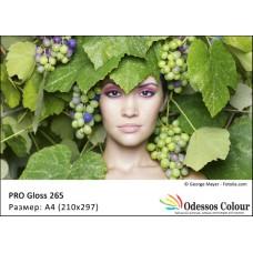 Фотохартия A4 (210x297мм.) - PRO Gloss 265 гр.