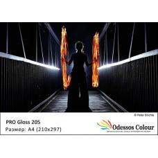 Фотохартия А4 (210*297 мм.) PRO GLOSS 205 гр. - 50 листа