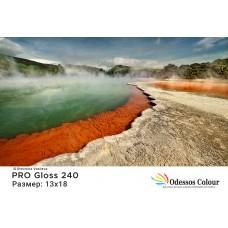 Фотохартия 13x18 PRO GLOSS 240гр. - 100 листа