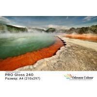 Фотохартия A4 (210*297 мм.) PRO Gloss 240гр. - 20 листа