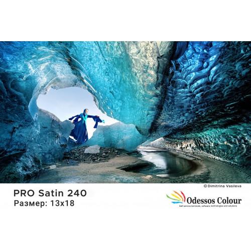 Фотохартия 13x18 PRO SATIN 240гр. - 100 листа