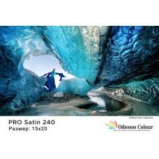 Фотохартия 15x20 PRO SATIN 240гр. - 100 листа