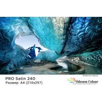 Фотохартия А4 (210x297мм.) - PRO SATIN 240 гр. - 20 листа