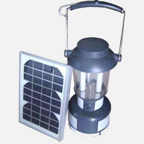Соларна туристическа лампа
